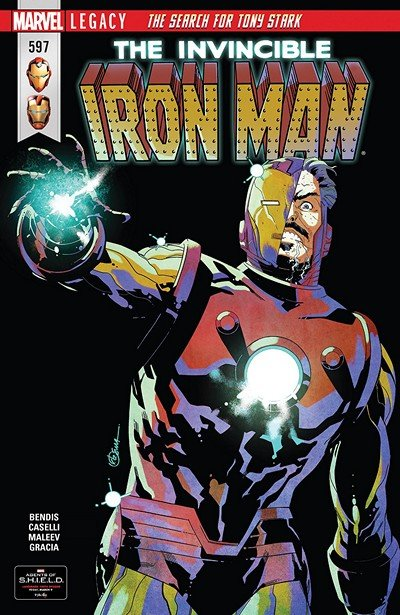 Invincible Iron Man #597 (2018)