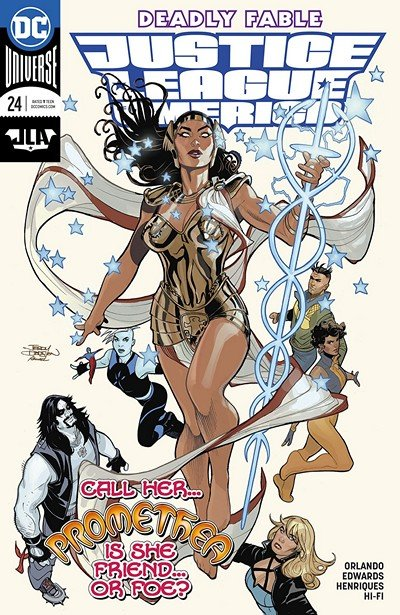 Justice League Of America #24 (2018)