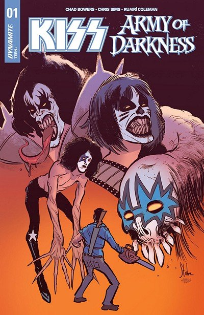 KISS – Army Of Darkness #1 (2018)