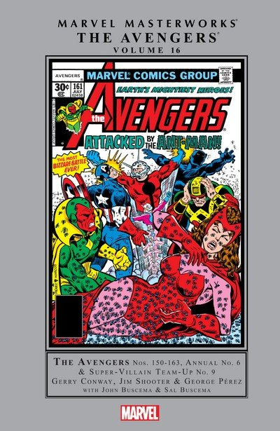Marvel Masterworks – Avengers Vol. 16 (2016)