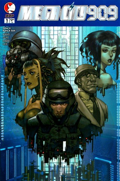 MegaCity 909 #0 – 8 (2004-2005)