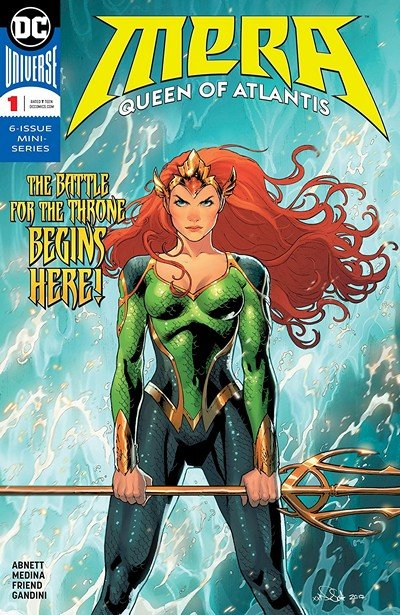 Mera – Queen Of Atlantis #1 (2018)