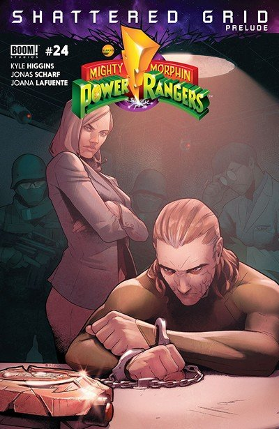 Mighty Morphin Power Rangers #24 (2018)