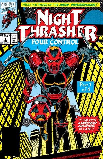 Night Thrasher – Four Control #1 – 4 (1992-1993)