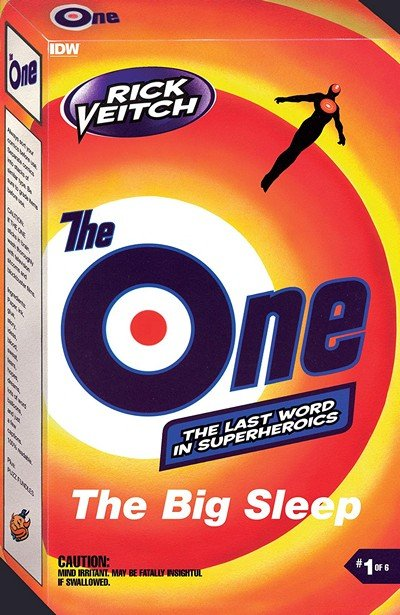 Rick Veitch's The One #1 (2018)