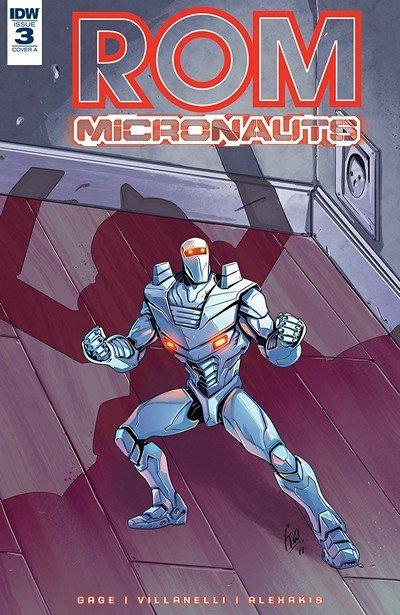 Rom & The Micronauts #3 (2018)