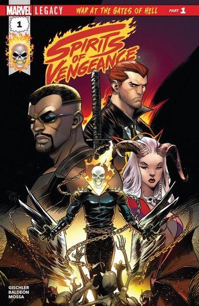 Spirits of Vengeance #1 – 5 (2017-2018)