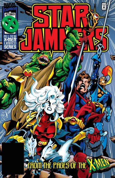StarJammers #1 – 4 (1995)