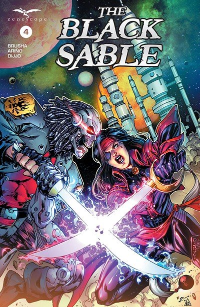 The Black Sable #4 (2018)