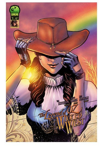 The Legend of Oz – The Wicked West Vol. 1 #1 – 6 (2011-2016)