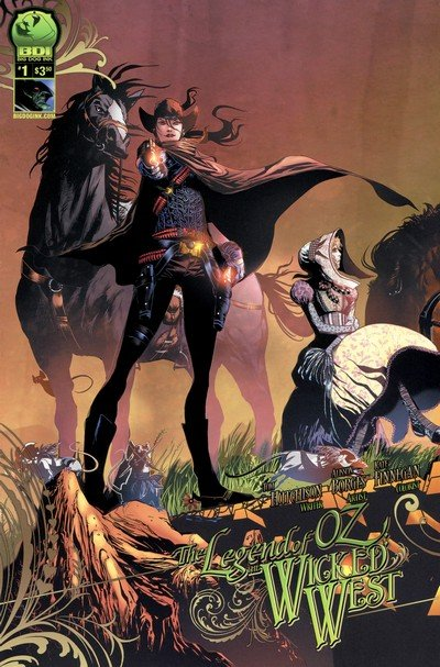 The Legend of Oz – The Wicked West Vol. 2 #1 – 18 (2012-2014)