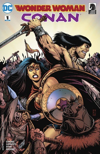 Wonder Woman-Conan #1 – 6 (2017-2018)