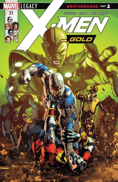 X-Men Gold #21 (2018)