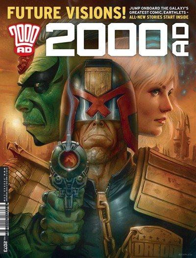 2000AD #2073 (2018)