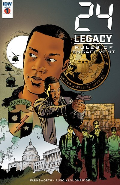 24 – Legacy – Rules of Engagement #1 – 5 (2017)