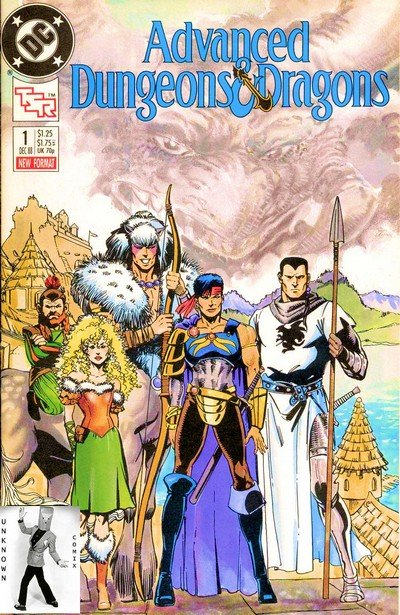 Advanced Dungeons & Dragons #1 – 36 + TPB Vol. 1 – 4 (1988-1991)