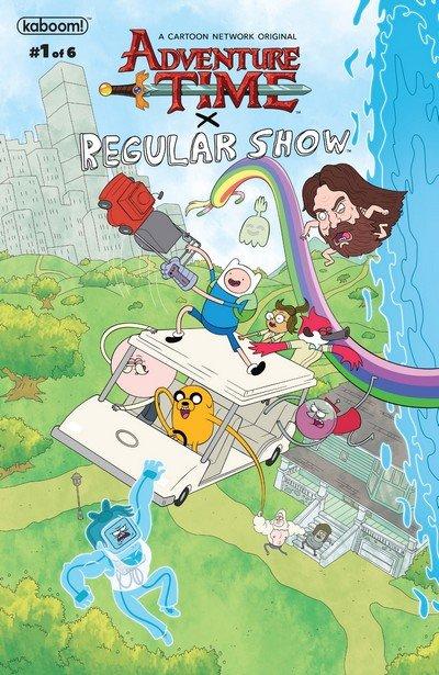 Adventure Time – Regular Show #1 – 6 (2017-2018)