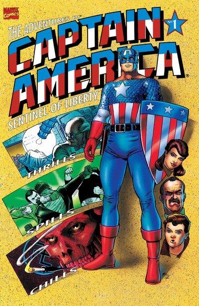 Adventures of Captain America #1 – 4 (1991-1992)