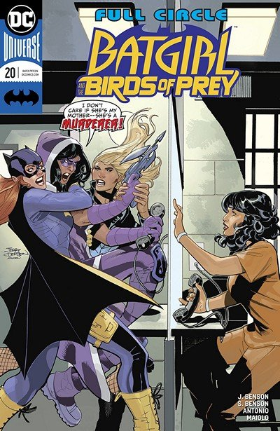 Batgirl And The Birds Of Prey #20 (2018)