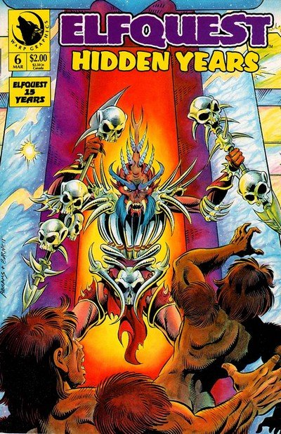 ElfQuest – Complete and in Chronological Order (1978-2018)