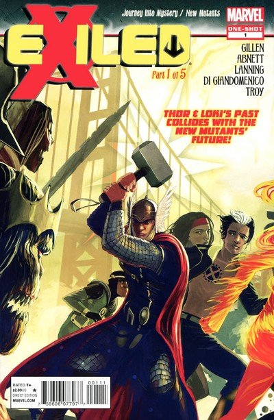 Exiled (2012) (Marvel Comics)