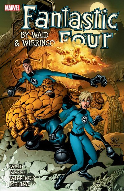 Fantastic Four by Waid & Wieringo Ultimate Collection Vol. 4 (2011)