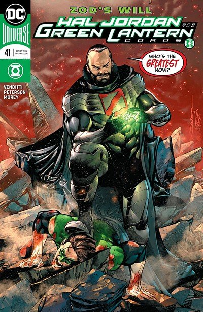 Hal Jordan And The Green Lantern Corps #41 (2018)