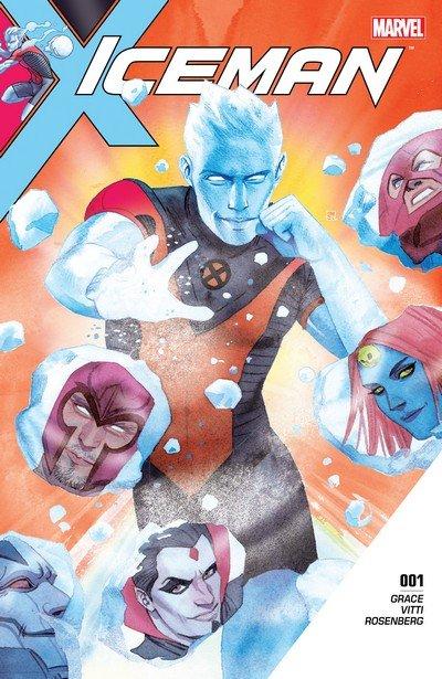 Iceman #1 – 11 + TPB Vol. 1 (2017-2018)
