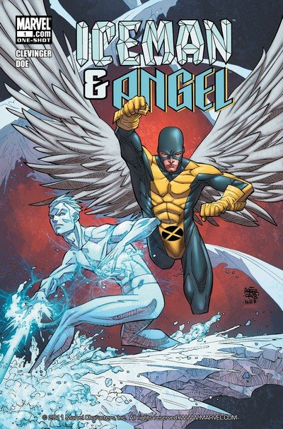 Iceman and Angel #1 (2011) (One Shot)