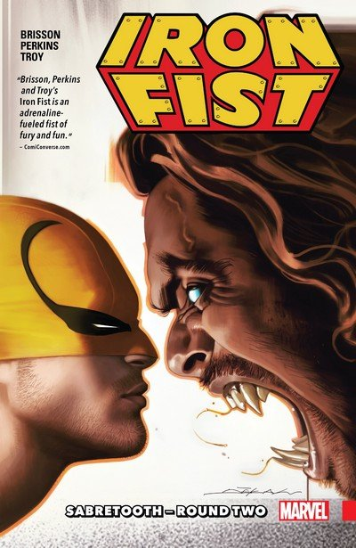 Iron Fist Vol. 2 – Sabretooth – Round Two (2018)