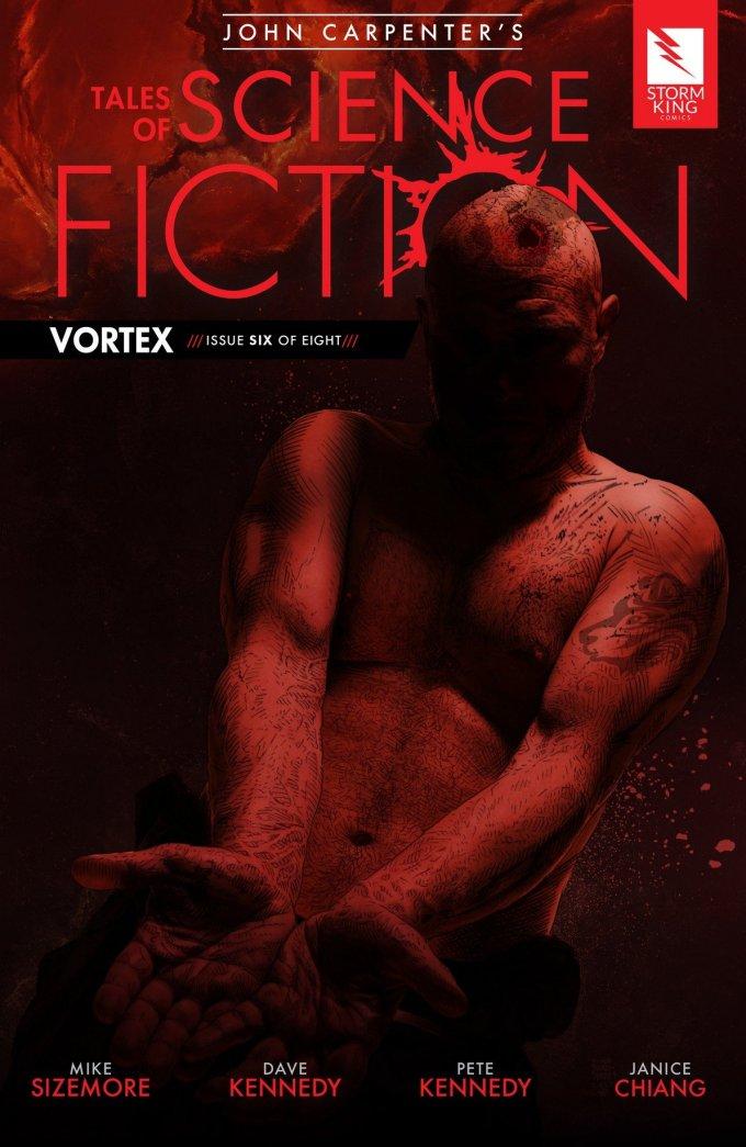 John Carpenter's Tales of Science Fiction – Vortex #6 (2018)