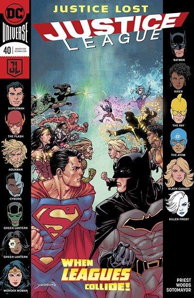Justice League #40 (2018)