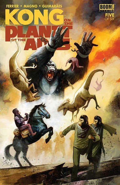 Kong On The Planet Of The Apes #5 (2018)