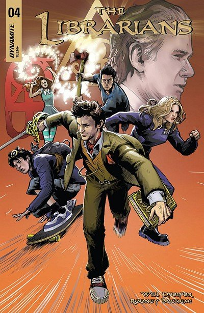The Librarians #4 (2018)