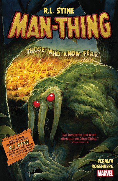 Man-Thing by R. L. Stine (2017)