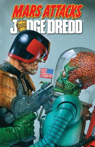 Mars Attacks Judge Dredd (TPB) (2014)