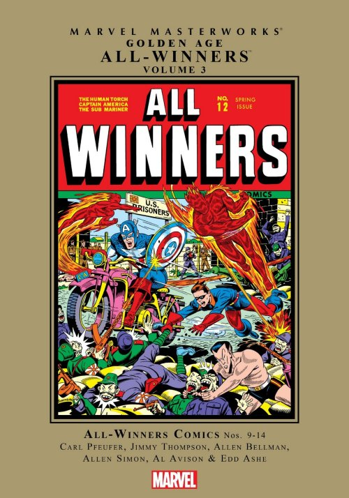 Marvel Masterworks – Golden Age All-Winners Vol. 3 (2018)