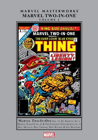 Marvel Masterworks – Marvel Two-In-One Vol. 2 (2017)