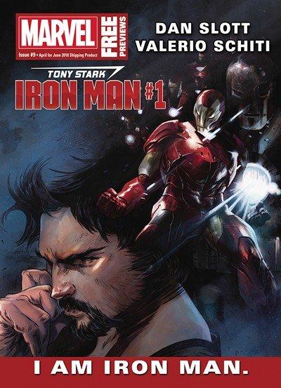 Marvel Previews #9 (April 2018 for June 2018)