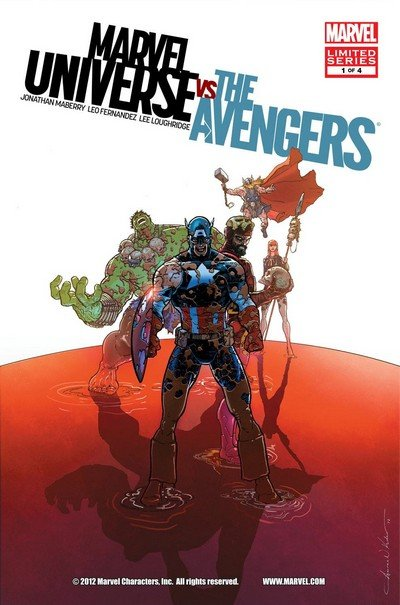 Marvel Universe Vs The Avengers #1 – 4 (2012-2013)