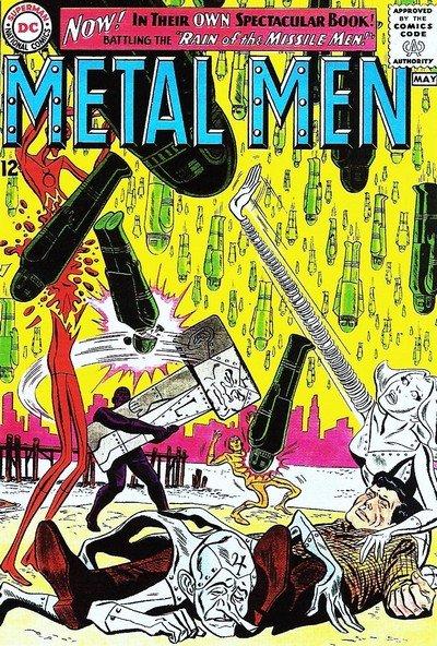 Metal Men #1 – 56 (1963-1978)