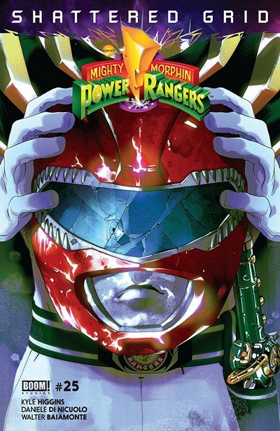 Mighty Morphin Power Rangers #25 (2018)