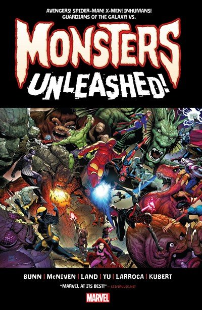 Monsters Unleashed #1 – 5 (2017)
