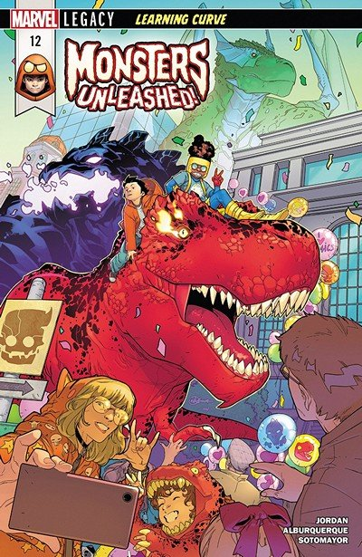 Monsters Unleashed #12 (2018)