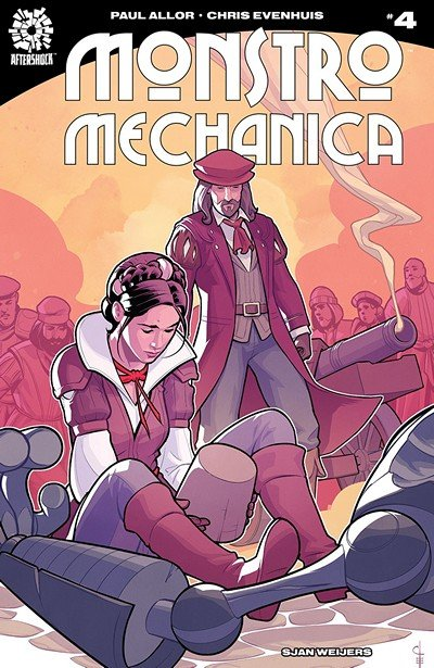 Monstro Mechanica #4 (2018)