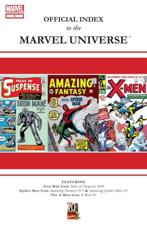 Official Index to the Marvel Universe #1 – 14 (2009-2010)