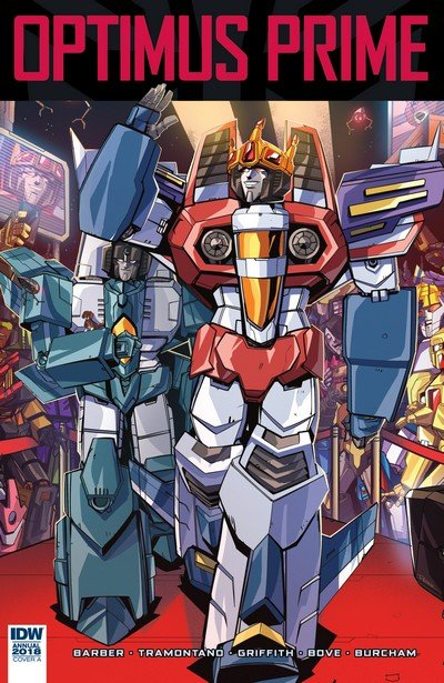 Optimus Prime Annual 2018