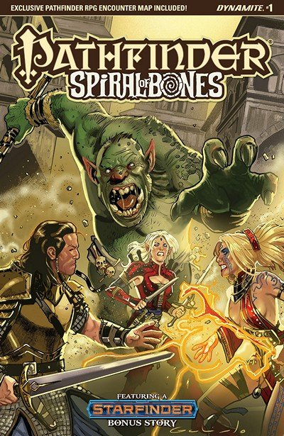 Pathfinder – Spiral Of Bones #1 (2018)