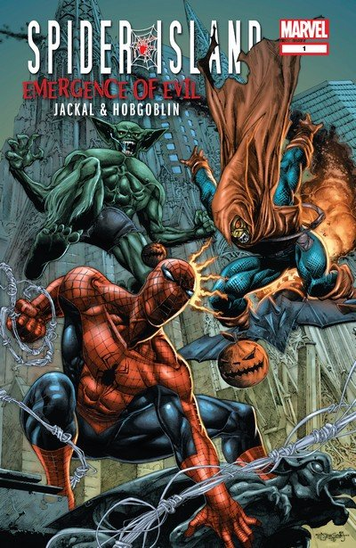 Spider-Island – Emergence of Evil – Jackal & Hobgoblin (2011)