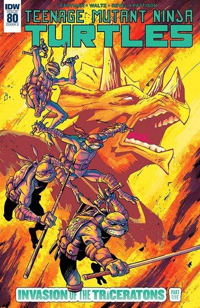 Teenage Mutant Ninja Turtles #80 (2018)